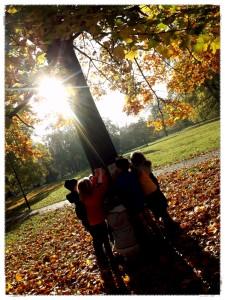 2019-10-21 Koláž projekt Den stromů 1. třída